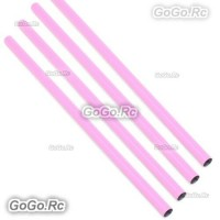 4 Pcs ALZRC 400mm Pink Tail Boom Belt Version For Devil X360 Gaui X3 Helicopter