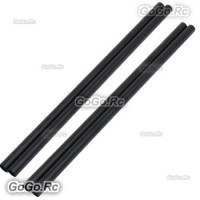 4 Pcs ALZRC 400mm Black Tail Boom Belt Version For Devil X360 Gaui X3 Helicopter