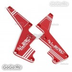 ALZRC Metal Shapely Reinforcement Plate Assembly Red For Devil X360 Gaui X3 Heli
