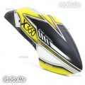 ALZRC Painted Fiberglass Canopy -19-C For Devil X360 Gaui X3 RC Helicopter