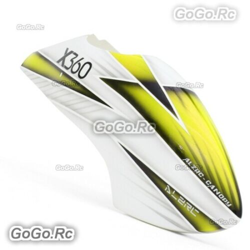 ALZRC Painted Fiberglass Canopy - P-C For Devil X360 Gaui X3 RC Helicopter