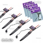 4x Emax Bullet BLHeli-S 12A Mini DSHOT ESC For 2-4S Brushless FPV