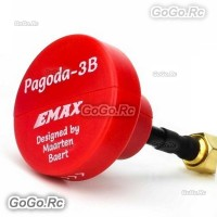 EMAX Pagoda 3B 5.8G 50mm Long Red FPV VTX Antenna Pagoda Pro by Maarten Baert
