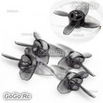 EMAX Avan Tinyhawk Turtlemode 40mm 4-Blade Propeller For 08025 Drone Motor Black