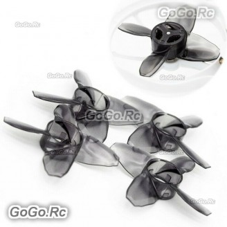 EMAX Avan Tinyhawk Turtlemode 40mm 4-Blade Propeller For 08025 Drone Motor Black