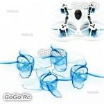 EMAX Avan Tinyhawk Turtlemode 40mm 4-Blade Propeller For 08025 Drone Motor Blue