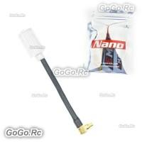 EMAX Nano 5.8G FPV White Antenna 50mm LHCP Angle MMCX For RC FPV Drone