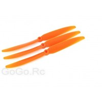 3 x New EP-8060 Airplane Propellers Prop - Orange