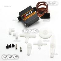 4 Pcs EMAX ES3301 10.6g Mini Plastic Gear Analog Servo for RC Helicopter Plane