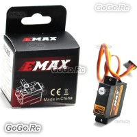 1 Pcs EMAX ES3302 12.4g Mini Metal Gear Analog Servo for RC Helicopter Plane