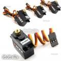 4 Pcs EMAX ES3452 TSC Spec 6.0V Waterproof Metal Gear Digital Servo For Traxxas