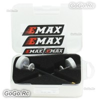2 x EMAX 5.8G 5dBi 50W 80mm Omni FPV Drone Pagoda II Antenna LHCP SMA Pin White