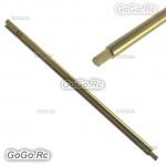 Titanium Nitride TiNi Hex Screw Driver 2.0mm Tip Replacement Shaft (F086C20)