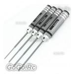 RC Hobby Tools Hexagon Screwdriver Best Quality Hard Steel 4 in 1 Black F015-BK