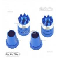 Aluminum Transmitter Stick Blue Φ M3 Size For Transmitter (F035BU)