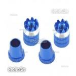 Aluminum Transmitter Stick Blue Φ M4 Size For Transmitter (F035BUM4)