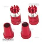 Aluminum Transmitter Stick Red Φ M3 Size For Transmitter (F035RD)