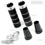 Aluminum Transmitter Extra Long Stick Black M3 Size For RC Model Transmitter