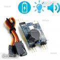 5-8V Signal Loss Alarm Finder With LED Indicator Rechargeable Button Battery