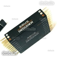 16CH SBUS to PWM/PPM Decoder Compatible for Futaba Frsky Transmitter