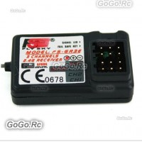 3CH 2.4Ghz FS-GR3E GR3C GT3B Receiver Car Boat RC Remote w/Failsafe & Bind Port