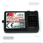 Flysky 2.4GHz 3CH FS-GR3F Receiver for FS-GT2 FS-GT3B FS-GT3C Transmitter