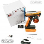 FlySky FS-GT3C 2.4G 3CH Transmitter & Receiver Orange For RC Car Boat Orange -  Box Set