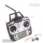 Flysky FS-T6 AFHDS 2.4GHz 6CH Radio Transmitter & Receiver RC Multicopter w/ box