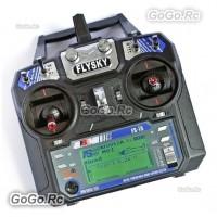 FS-i6 Flysky AFHDS 2A 2.4GHz 6CH Radio Transmitter & FS-iA6 Receiver for RC Heli