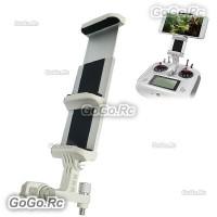 Flysky FS-i6S Transmitter Bracket Holder Tablet Mobile Phone FPV Mount White