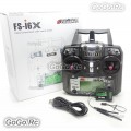 Flysky FS-i6X 6CH 2.4GHz RC Transmitter With FS-iA6B Receiver For RC Model