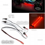 Chassis Body Red Light Strip Rope Tube For RC Drift Car Truck Buggy Heli