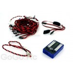 12 LED RC Car Flashing Light System NO BOX
