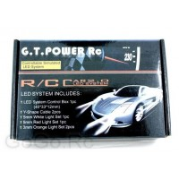 G.T.POWER RC Car 2.0 LED Flashing Light System (GT002)