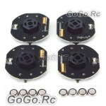 4 Pcs GT POWER RC Car Dynmaic Wheel Light LED Set Green (GT004GN)