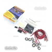 GT POWER High Power 3W Flight Simulated And Flashing Light System RC Plane GT027