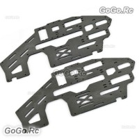 2 Pcs 500 Flybarless Carbon Fiber Main Frame For T-rex Helicopter - GT500-F021