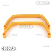 450 Landing Skid For Trex T-Rex 450 SE V2 GF Helicopter - Yellow (H15041-2)