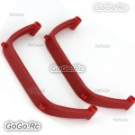 450 Landing Skid For Trex T-Rex 450 SE V2 GF Helicopter - Red (H15041-3)