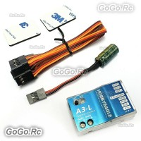 Eagle A3 L 3-Axis Gyro RC Fixed-Wing Airplane Flight Stabilization Controller