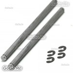 2 Pcs 02063 Rear Lower Arm Round Pin A For 1/10 RC Car Buggy Truck Spare Parts