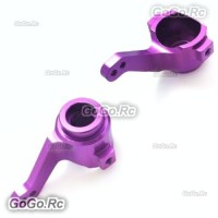 102011 1:10 Upgrade Parts Aluminum Steering Hub (L/R) Purple For HSP RC Car
