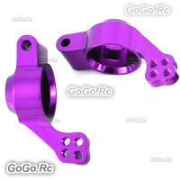 102012(02013) Purple Rear Hub Carrier (L/R) For HSP 1/10 On-Road Car/Buggy/Truck