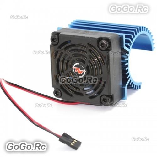 Hobbywing Combo C1 5V 5010 Cooling Fan//36mm dia x 55mm Motor Heat Sink 3660//3674