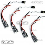 4x HOBBYWING Xrotor 20A Micro 2 4S BLHeli RC Brushless ESC Speed Controller FPV