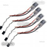4x HobbyWing XRotor BLHeli 35A 3-6S Micro ESC Support OneShot125 For FPV Drone
