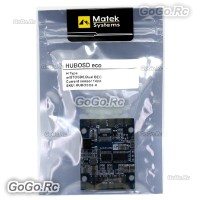 Matek HUBOSD eco H Power distributon board HUB OSD PDB CURRENT SENSOR BEC 5V12V