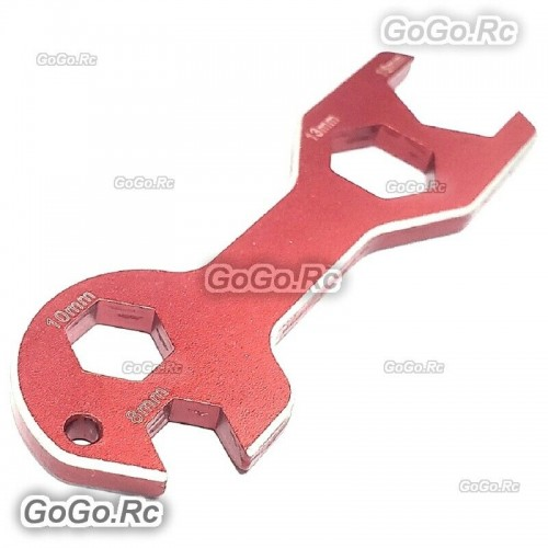 Red Multifunctional Wrench Tools For M8 M10 M13 M16 Motor Bullet RC Model