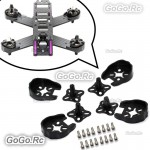 Brushless Motor Protector Mount /w Landing Gear for 2204 2205 2206 Drone 250 BK