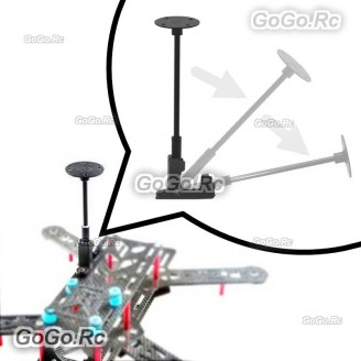 Plastic GPS Antenna Stand Mount Folding Seat Base Foldable Bracket Holder